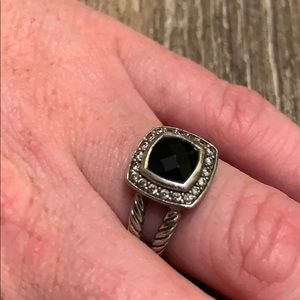Black Onyx David Yurman Ring